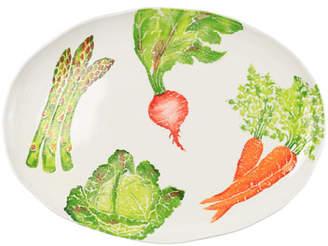 Vietri Spring Vegetables Large Oval Platter