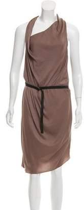 Helmut Lang Sleeveless Midi-Length Dress