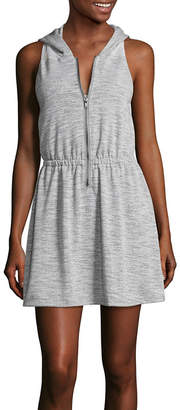 INSPIRED HEARTS Inspired Hearts French Terry Swimsuit Cover-Up Dress-Juniors