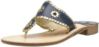 Jack Rogers Women's Nantucket Gold Dress Sandal
