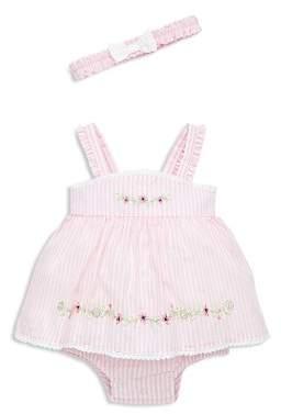 Little Me Girls' Springtime Bodysuit-Dress & Headband Set - Baby