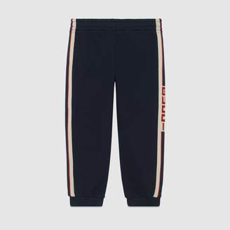 Gucci Children's jogging pant with stripe