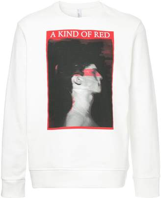 Neil Barrett graphic print sweatshirt