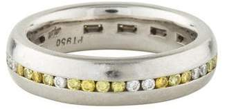 Ring Platinum Diamond Wedding Band
