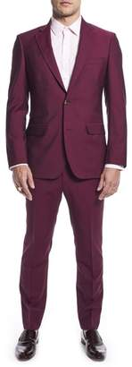 Strong Suit by Ilaria Urbinati Kilgore Slim Fit Solid Wool & Mohair Suit