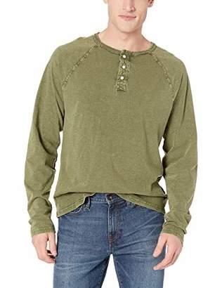 Lucky Brand Men's Sugar Magic Long Sleeve Henley Shirt