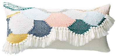 Anthropologie Lindsay Campbell Cushion, Ivory