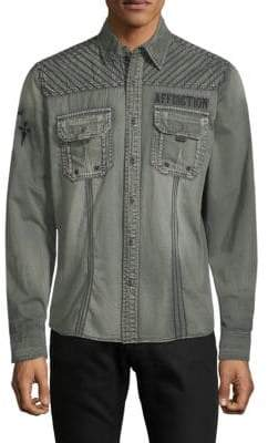 Affliction Air Combat Cotton Shirt