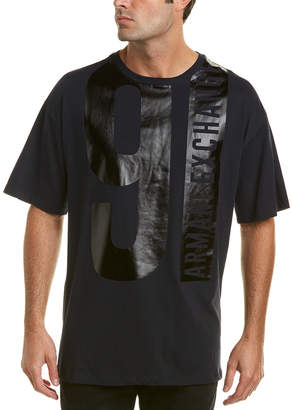 Armani Exchange Oversized 91 Logo T-Shirt