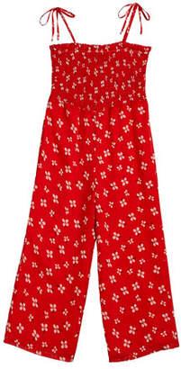 Bardot Junior Ali Floral Smocked Jumpsuit, Size 8-16