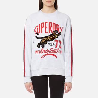 Superdry Women's Original Tiger Crew Sweatshirt