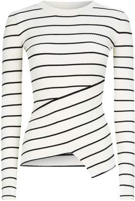 AllSaints Amara Breton Stripe Sweater
