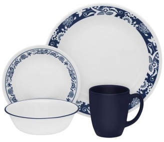 Corelle Livingware True 16 Piece Dinnerware Set, Service for 4
