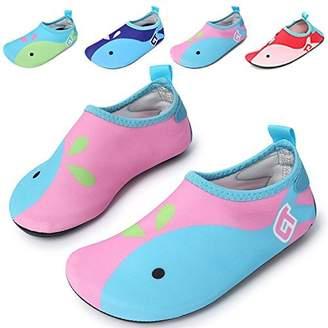 Pool' WXDZ Kids Water Shoes Swim Shoes Mutifunctional Quick Drying Barefoot Aqua Socks for Beach Pool MS0221 redblue 30/31
