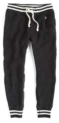 Todd Snyder + Champion Polartec Sherpa Sweatpant in Black