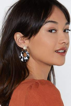 Nasty Gal We're All Ears Hoop Earrings
