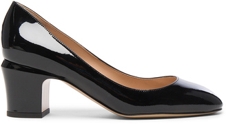 Valentino Tan-Go Patent Leather Pump $675 thestylecure.com