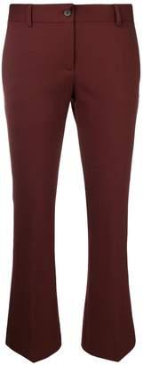 Alberto Biani cropped bootcut trousers