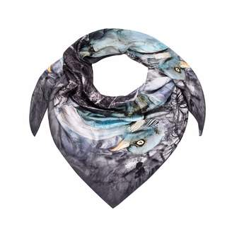 Coleman Louise Silk Nesting Scarf