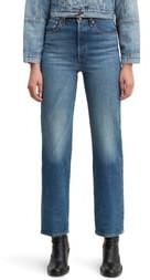 Levi's Ribcage Super High Waist Straight Leg Jeans