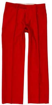 CNC Costume National Flat Front Wool Pants