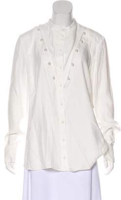 Altuzarra Long Sleeve Button-Up Top w/ Tags