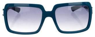 Burberry Rectangle Frame Sunglasses