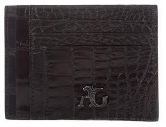 Angelo Galasso Crocodile Wallet