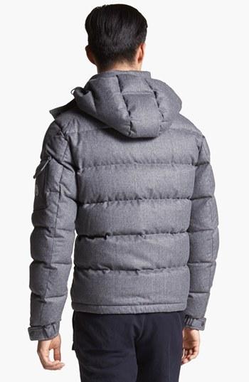 Moncler 'Mongenevre' Wool Down Jacket