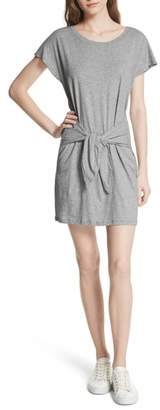Joie Alyra Tie Waist Cotton T-Shirt Dress