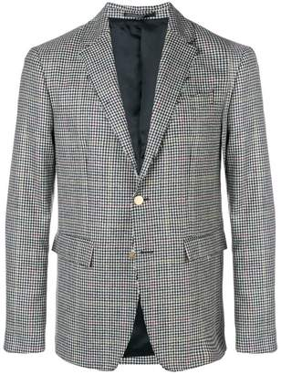 Mauro Grifoni checked tailored blazer