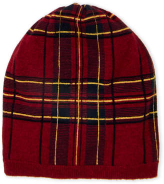 Autumn Cashmere Cashmere Plaid Hat