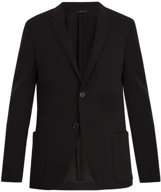 Fendi Notch-lapel cotton-blend blazer