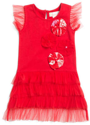 Baby Girls Floral Tulle Dress