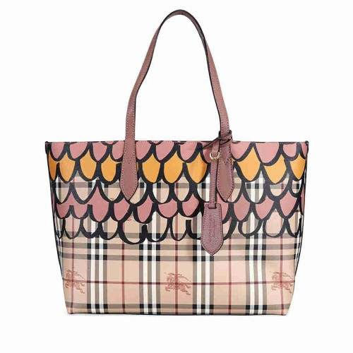 Burberry Medium Reversible Tote - Light Elderberry