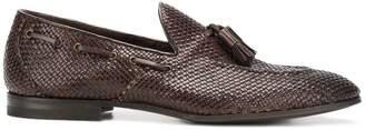 Henderson Baracco woven tassel loafers