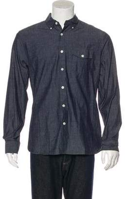 Todd Snyder Woven Button-Up Shirt