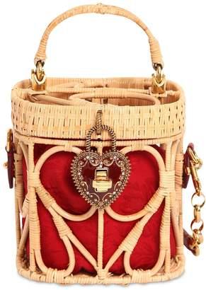 Dolce & Gabbana My Heart Midollino Basket Bag