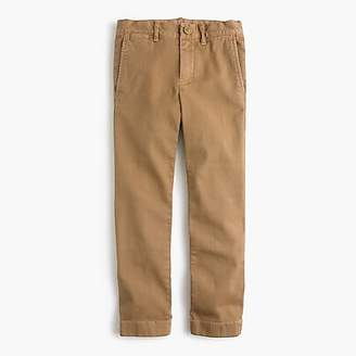 J.Crew Boys' chino pant in stretch skinny fit