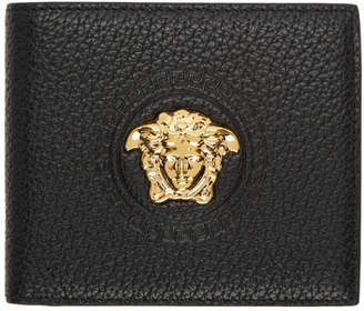 Versace Black Large Medusa Wallet
