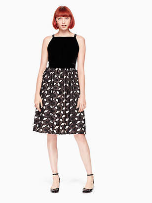 Kate Spade Poppy cutwork fit and flare dress