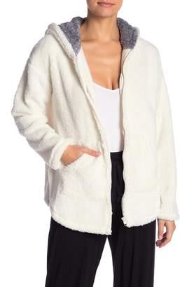 Kensie Long Sleeve Pajama Jacket