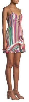 Parker Jay Ruffle-Front Tank Dress