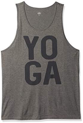 Alo Yoga Men's Practice Tank Graphic Yoga Square