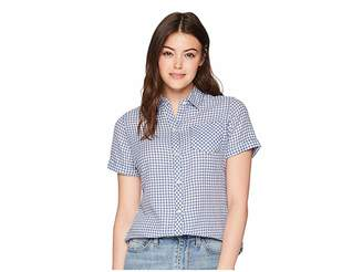 Woolrich Northern Hills Short Sleeve Shirt Women's Short Sleeve Button Up
