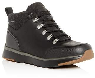 UGG Men's Olivert Waterproof Nubuck Leather Cold-Weather Hiking Boots