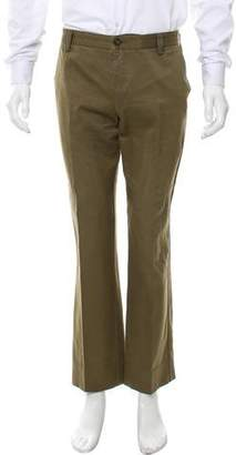 Etro Cropped Flat Front Casual Pants
