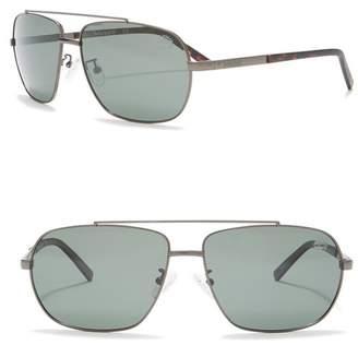 Timberland Polarized 61mm Navigator Sunglasses