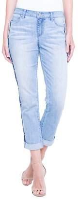 Liverpool Jeans Company Perry Slim Side Stud Boyfriend Jeans