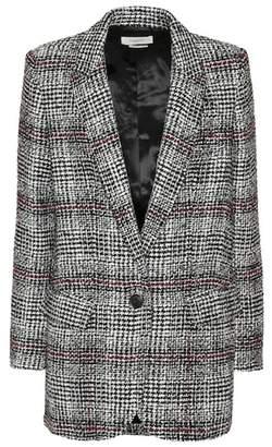 Etoile Isabel Marant Isabel Marant, Étoile Ice plaid wool-blend blazer